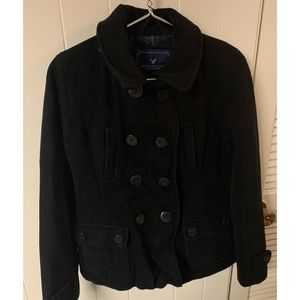 American Eagle Wool Peacoat Size M
